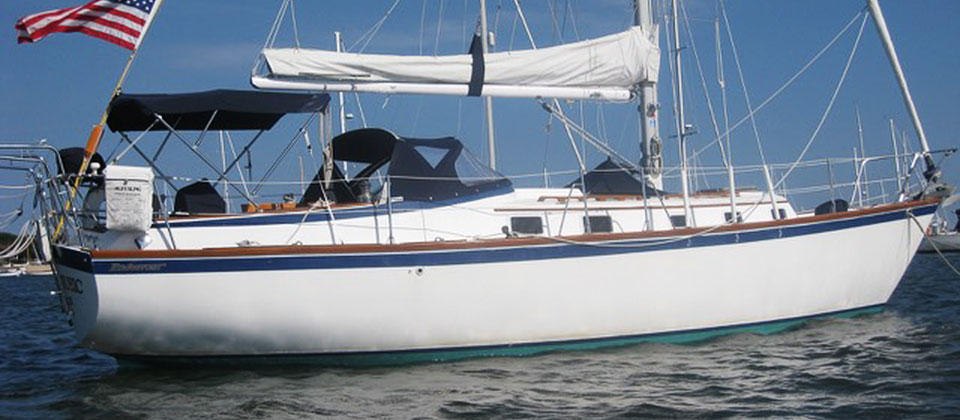 Lucas Get Endeavour 37 A Plan Sailboat