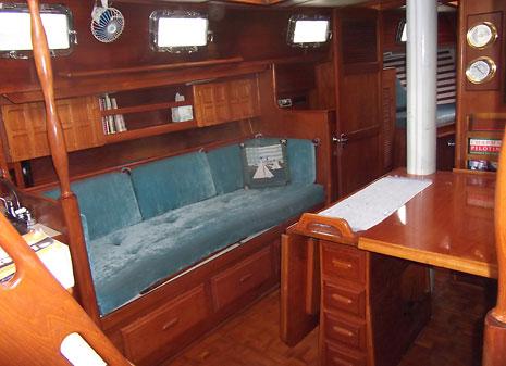 1983 Endeavour 40 Cutter Sailboat